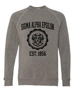 Sigma Alpha Epsilon Alternative - Eco-Fleece� Champ Crewneck Sweatshirt