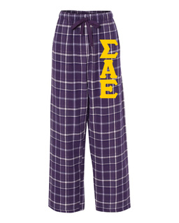 Sigma Alpha Epsilon Pajamas Flannel Pant