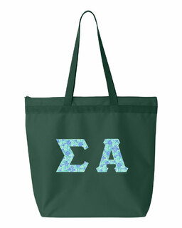Sigma Alpha Greek Letter Liberty Bag