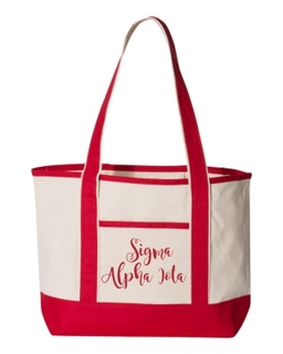 Sigma Alpha Iota Sailing Tote Bag