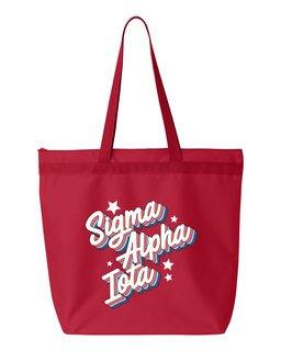 Sigma Alpha Iota Flashback Tote Bag
