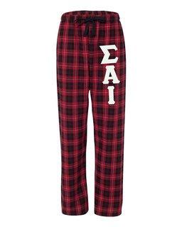 Sigma Alpha Iota Pajamas -  Flannel Plaid Pant