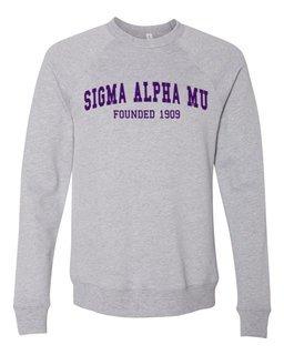 Sigma Alpha Mu Fraternity Founders Crew Sweatshirt