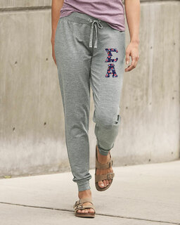 Sigma Alpha Be All Stretch Terry Sorority Pants