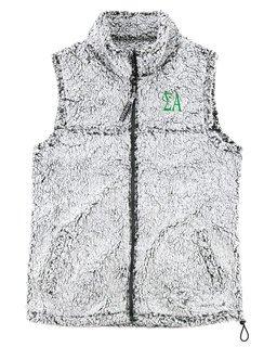 Sigma Alpha Smoky Grey Sherpa Vest