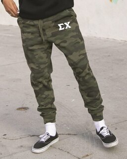 Sigma Chi Camo Fleece Pants