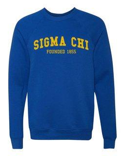 Sigma Chi Fraternity Founders Crew Sweatshirt