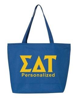 Sigma Delta Tau Design Your Own Tote Bag