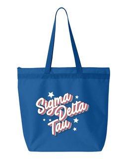 Sigma Delta Tau Flashback Tote bag