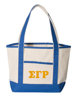 Sigma Gamma Rho Sailing Tote Bag