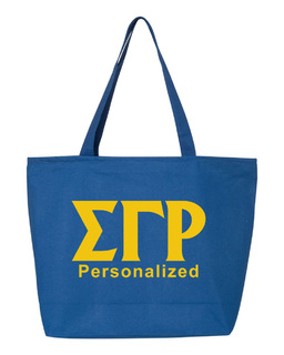 Sigma Gamma Rho Design Your Own Tote Bag