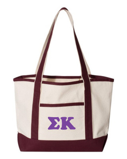 Sigma Kappa Sailing Tote Bag