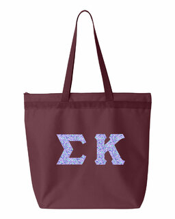Sigma Kappa Greek Letter Liberty Bag