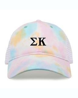 Sigma Kappa Lettered Sorbet Cap