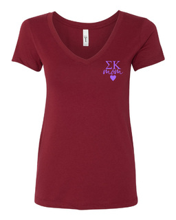 Sigma Kappa Mom Ideal V-Neck