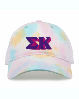 Sigma Kappa Sorority Sorbet Tie Dyed Twill Hat