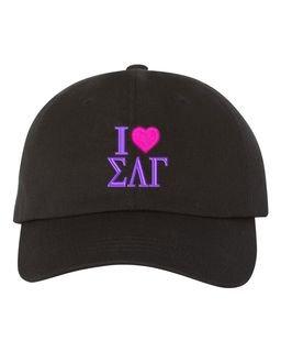 Sigma Lambda Gamma I Love Hat