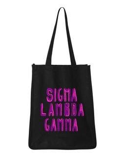 Sigma Lambda Gamma Jumbo All In Tote Bag