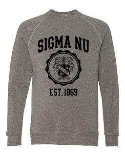 Sigma Nu Alternative - Eco-Fleece� Champ Crewneck Sweatshirt