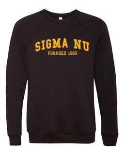 Sigma Nu Fraternity Founders Crew Sweatshirt