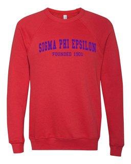 Sigma Phi Epsilon Fraternity Founders Crew Sweatshirt