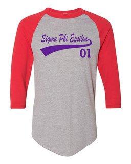 Sigma Phi Epsilon Tail Year Raglan
