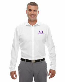 Sigma Pi Under Armour�  Men's Ultimate Fraternity Long Sleeve Buttondown
