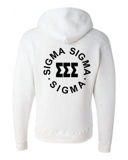 Sigma Sigma Sigma Circle Hoodie