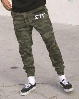 Sigma Tau Gamma Camo Fleece Pants