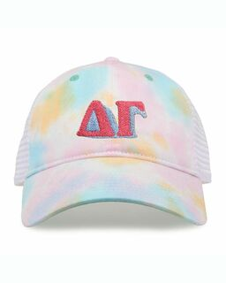 Sorority Sorbet Tie Dyed Twill Hat
