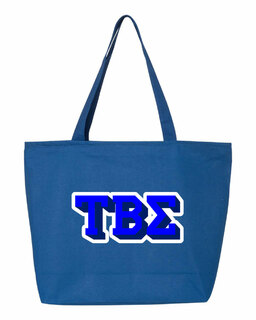 Tau Beta Sigma 3D Letter Tote Bag