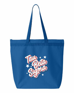 Tau Beta Sigma Flashback Tote bag