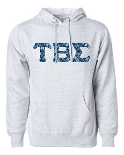 Tau Beta Sigma Lettered Independent Trading Co. Hooded Pullover Sweatshirt