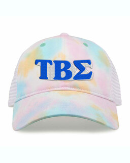 Tau Beta Sigma Sorority Sorbet Tie Dyed Twill Hat
