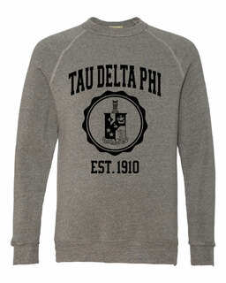 Tau Delta Phi Alternative - Eco-Fleece� Champ Crewneck Sweatshirt