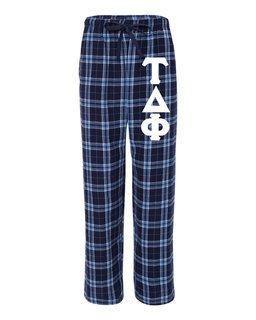 Tau Delta Phi Pajamas Flannel Pant