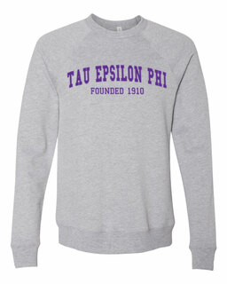 Tau Epsilon Phi Fraternity Founders Crew Sweatshirt