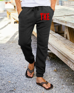Tau Kappa Epsilon Big Letter Sweatpants