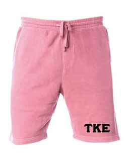 Tau Kappa Epsilon Pigment-Dyed Fleece Shorts