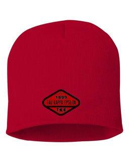 DISCOUNT-Tau Kappa Epsilon Woven Emblem Beanie