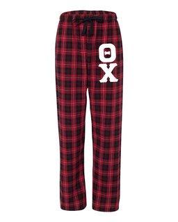Theta Chi Pajamas Flannel Pant
