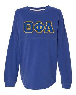 DISCOUNT-Theta Phi Alpha Athena French Terry Dolman Sleeve Sweatshirt