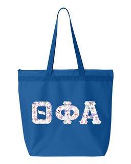 Theta Phi Alpha Greek Letter Liberty Bag