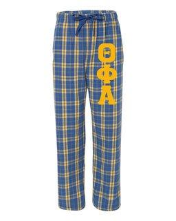 Theta Phi Alpha Pajamas -  Flannel Plaid Pant