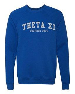 Theta Xi Fraternity Founders Crew Sweatshirt