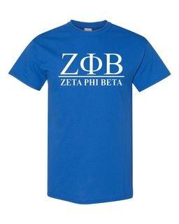 Zeta Phi Beta Heavyweight Line T-Shirt