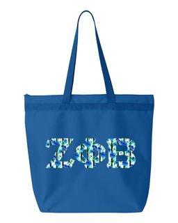 Zeta Phi Beta Greek Letter Liberty Bag