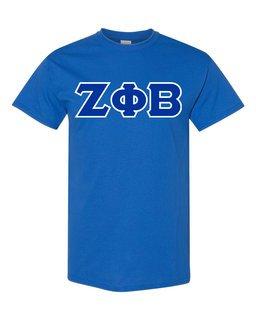 Zeta Phi Beta Lettered Shirts