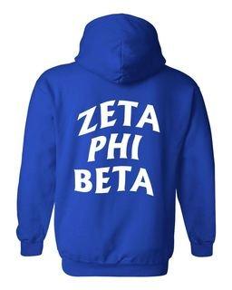 Zeta Phi Beta Social Hoodie
