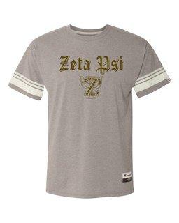 Zeta Psi Champion - Triblend Varsity Tee